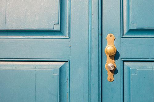 Paint Metal Doors