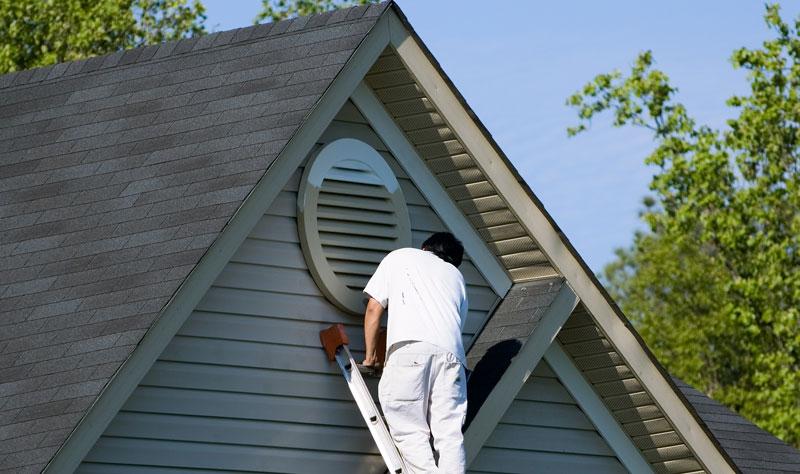 exterior painting process