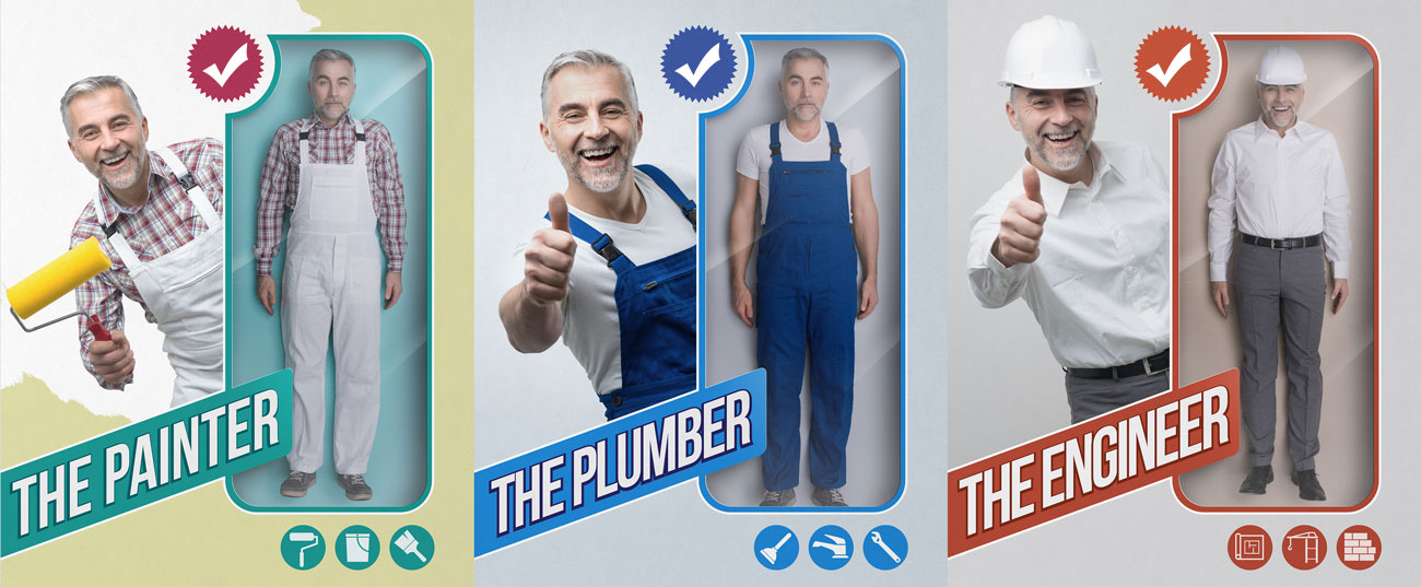 plumber painter engineer