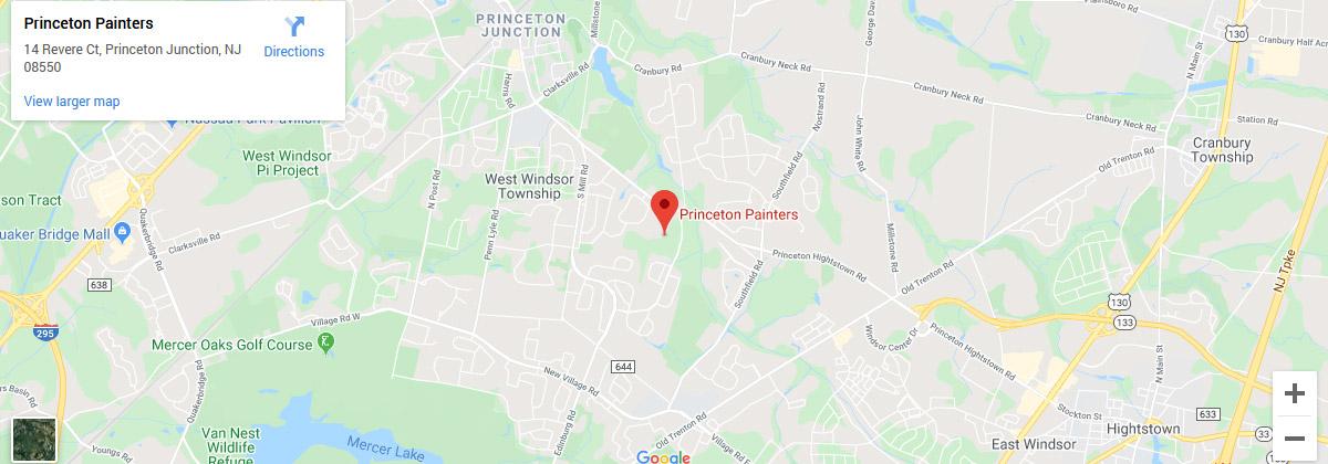 Princeton Painters – Map